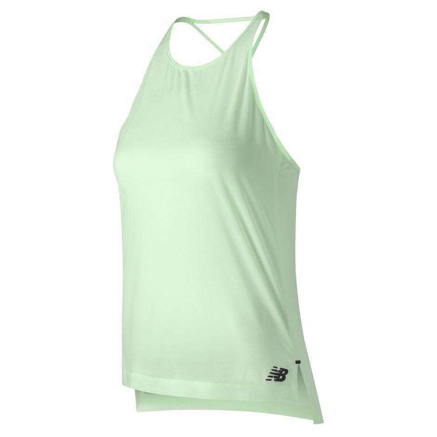 New Balance Women's Q Speed Woven Tank - BlackToe Running Inc. - Toronto Running Specialty Store