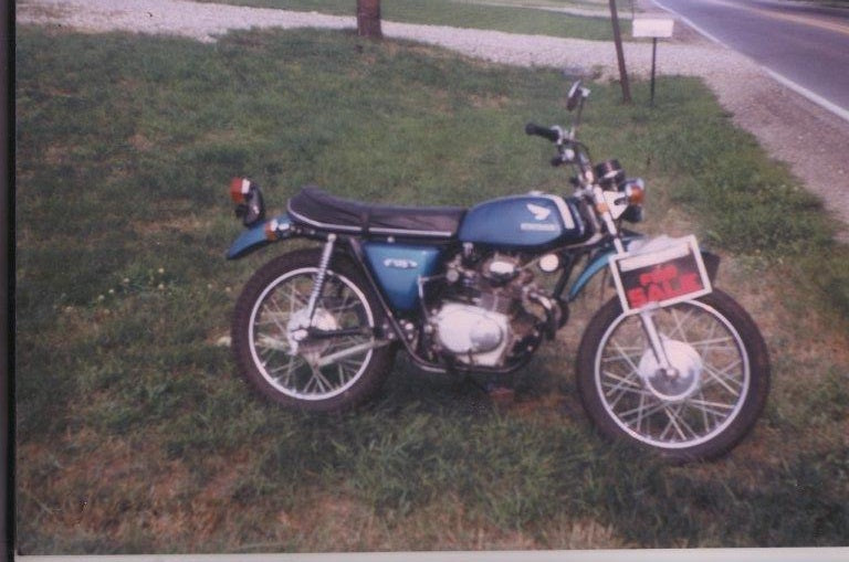 Honda CL175K3 Sad Day eventually made better. Click on the picture for details