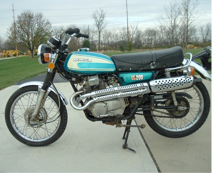 The Lonely Honda CL200--Ever Seen one?