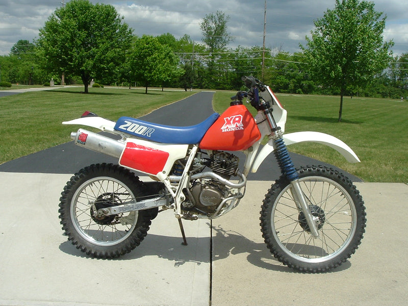 The Honda XR185, XR200: They were not maintenance snowflakes