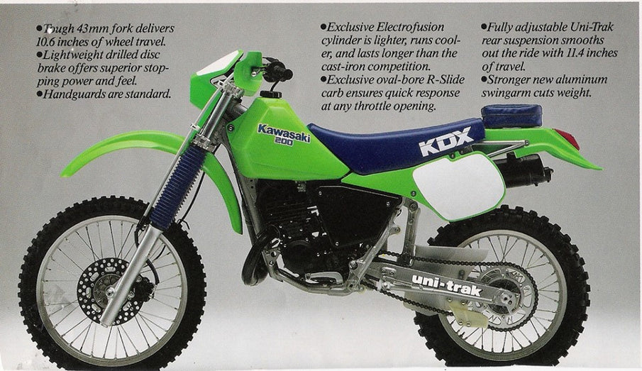 The Kawasaki KDX