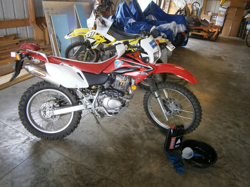 My Current Enduro Motorcycles