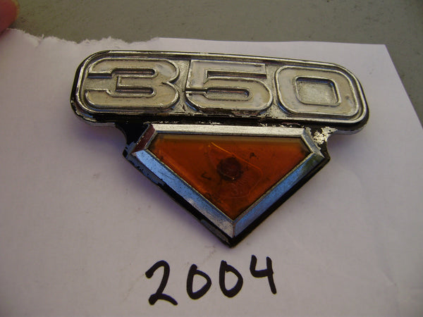 Honda CB350 CL350 K4 Right Sidecover Badge 2004