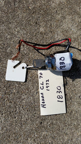 Honda CL70 Ignition Switch 1972 model sku 1830