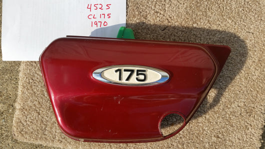 Honda CL175 1970 left sidecover 4525