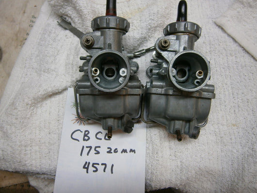 Honda CL175 CB175 Carburetor pair 4571