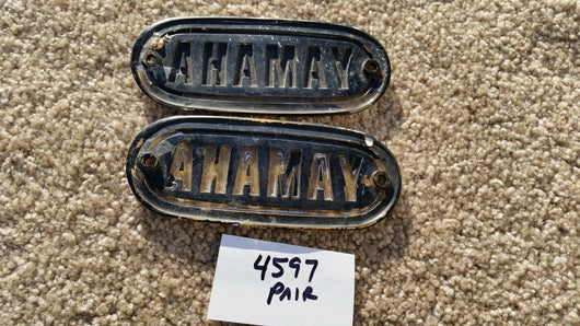 Yamaha Gas Tank Badge pair 4597