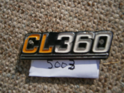 Honda CL360 Sidecover Badge 5003