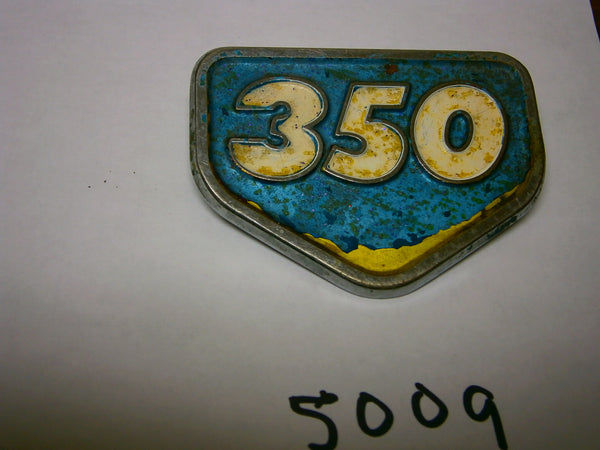 Honda CB350 CL350 Aquamarine Sidecover Badge 5009