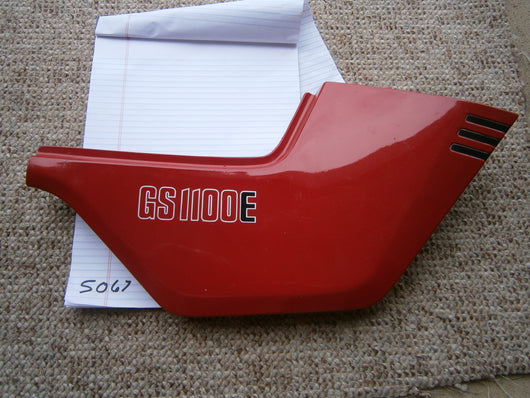 Suzuki GS1100E Right Red Sidecover  47111-49500R sku 5067