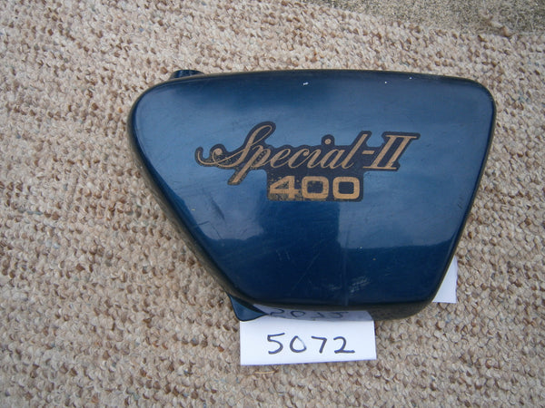 Yamaha Special II blue right sidecover 5072