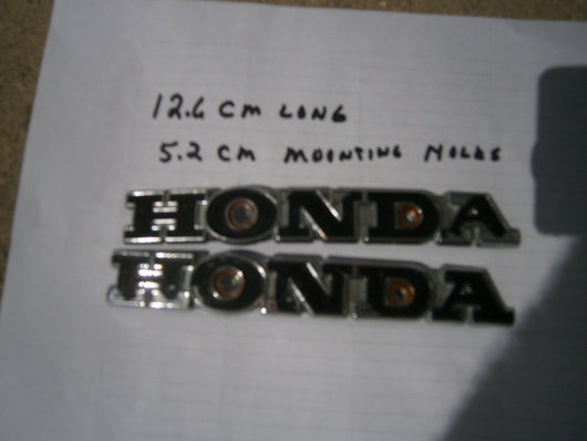 Honda Gas Tank Badges CB100 SL100 SL175 5082