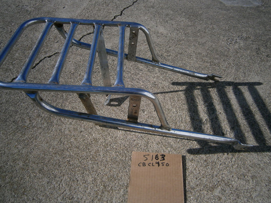 Honda CB450 luggage rack AAA brand sku 5163