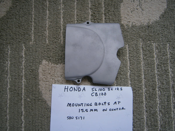 Honda CB100 CL100 SL100 SL125 Sprocket Cover sku 5171