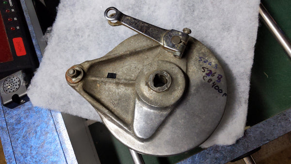 Honda CB400F CB400 Four Rear Brake Assembly sku 5263
