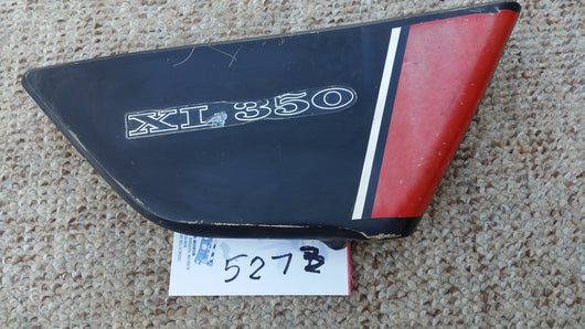 Honda XL350 right sidecover 5273