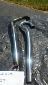 Honda CL175 Exhaust Pipes 5289