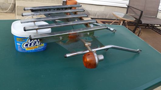 Tour and Trail Luggage Rack with turn signals  5472