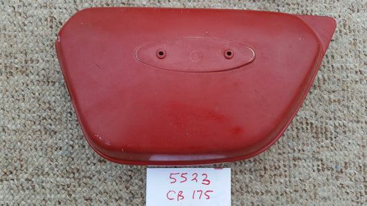 CB175 red left sidecover 5523