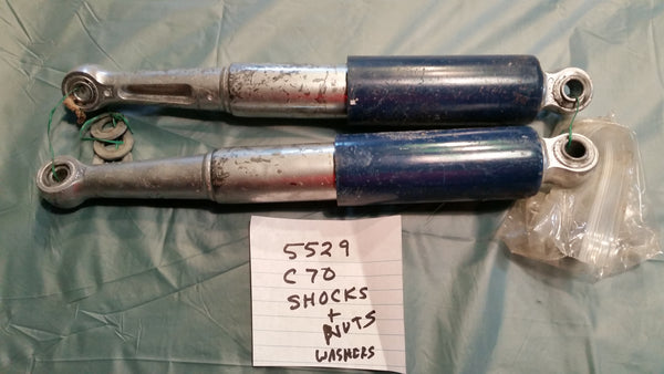 5529 Honda C70  Shock Pair