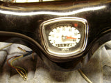 Honda CA100 CM91 Handlebar with speedometer, throttle mechanism and cable sku 5759