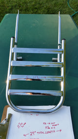 Luggage Rack, High Chrome, Beautiful Brand New  sku 5763