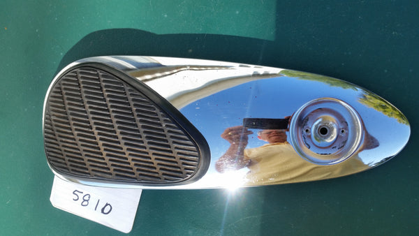Honda Super 90 S90 rt Chrome Panel and Rubber knee pad  5810