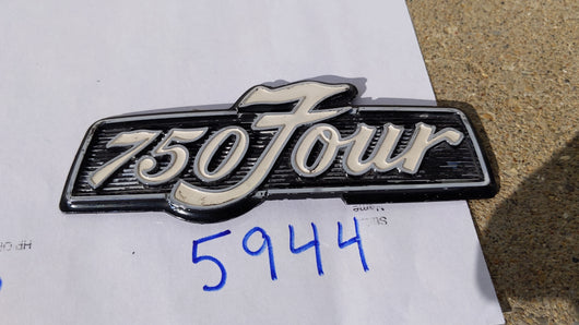 Honda CB750 Four Sidecover badge 1973-1976 sku 5944
