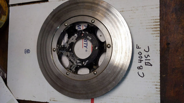 Honda CB400 Four CB350 Four Wheel Brake Disk sku 5964