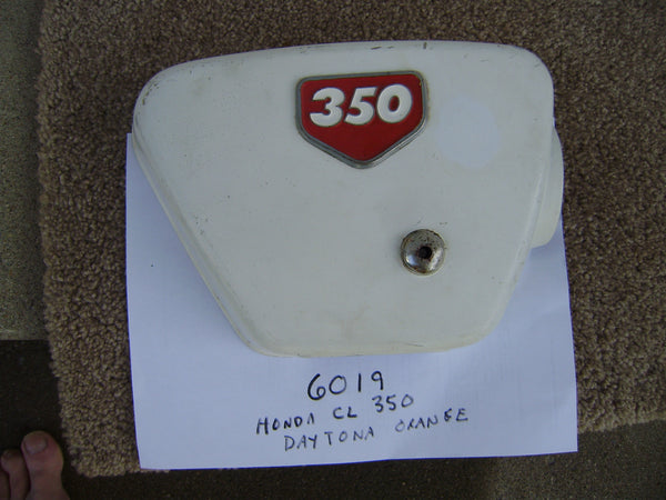 Honda CL350 Right sidecover OEM sku 6019