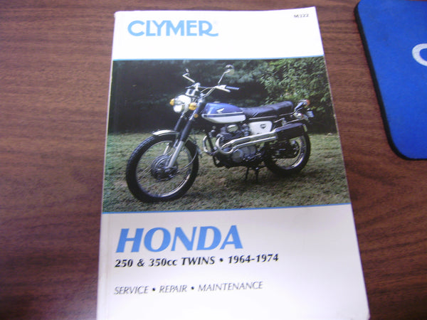 Clymer Honda 250 350 Twin Service Manual M322  sku 6150