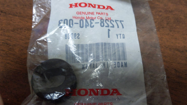 Honda Seat Lock Rubber OEM Honda Part 77228-340-003 sku 6207
