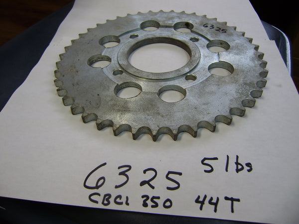 Honda CB350 CL350  NOS 44 Tooth  rear sprocket sku 6325