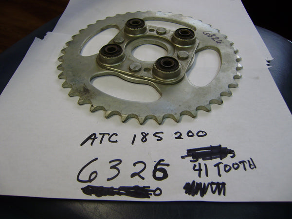 Honda ATC 185 200 Rear Sprocket 41 Tooth my sku 6326