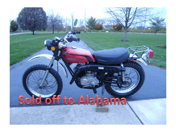 Sold-- Kawasaki G4TR 1974 100cc Project Bike Needs Work