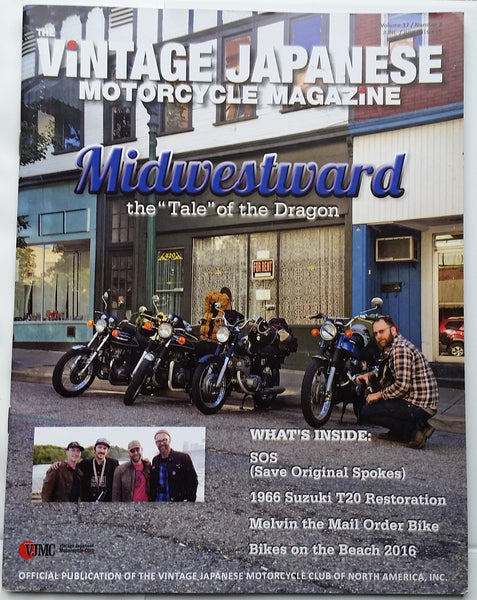 VJMC Magazine Tale of the Dragon  June 2016   sku 5012