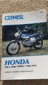 Honda CB250 350 Twins 1964-1974 Service Manual 5514