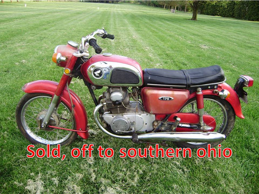 Sold Honda CD175 1970