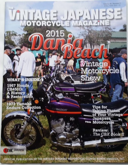 Kawasaki Mach IV 750 VJMC Magazine April 2015  sku 5011