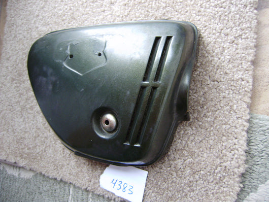 Honda CB350K4  Sidecover right Candy Baccus Olive 4383