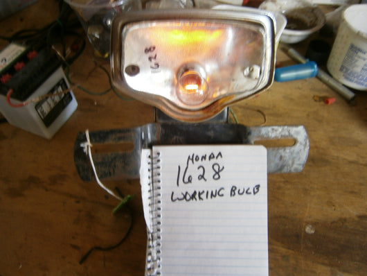 Honda CB CL Tail Light Complete with working bulb 1628