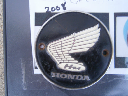 Honda CA175 Honda CD175 Honda CB77 CL77 Left Gas Tank Badge 2008