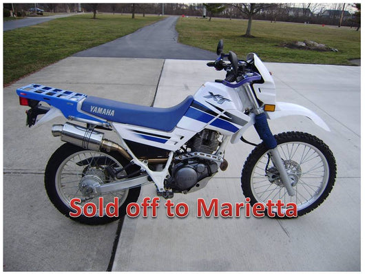 Sold Yamaha XT225 Street Trail