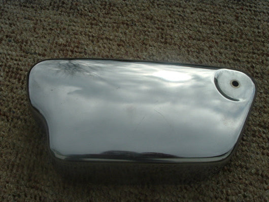 Honda CL77 Honda CL72 Scrambler Left sidecover New Chromed skku 1040