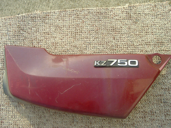 Kawasaki KZ750 Brown Right Sidecover