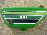Sold Ebay 5/11/2021 Yamaha 1976 RS100C Sidecover/Oil Tank 1975 1976 SKU 1083