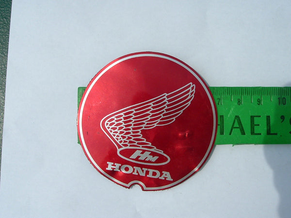 Honda P50 PA50 Wing Badge 1967  sku 1091