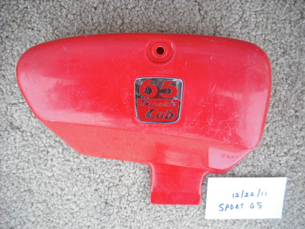 Honda Sport 65 sidecover right red sku 2084