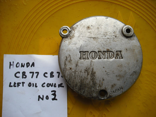 Honda CB77 CB72 Superhawk CL77 Left Oil Cover 2094