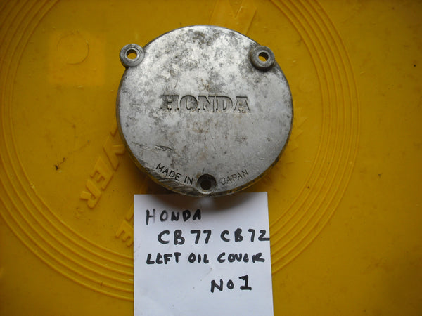 Honda CB77 Superhawk Honda CB72 Honda CL77 Left Oil Cover no 2